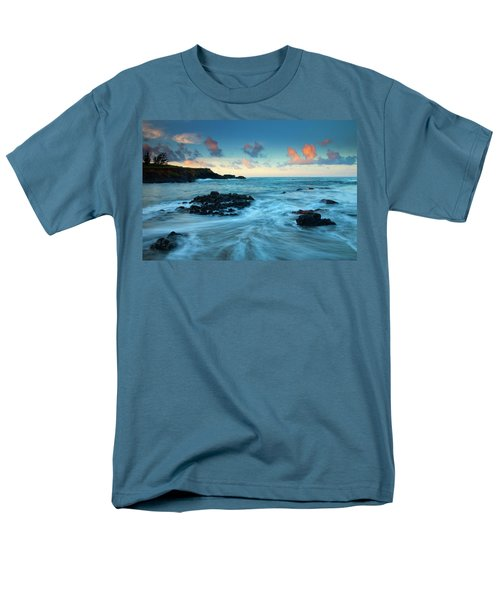 Glass Beach Dawn Men's T-Shirt  (Regular Fit) by Mike  Dawson