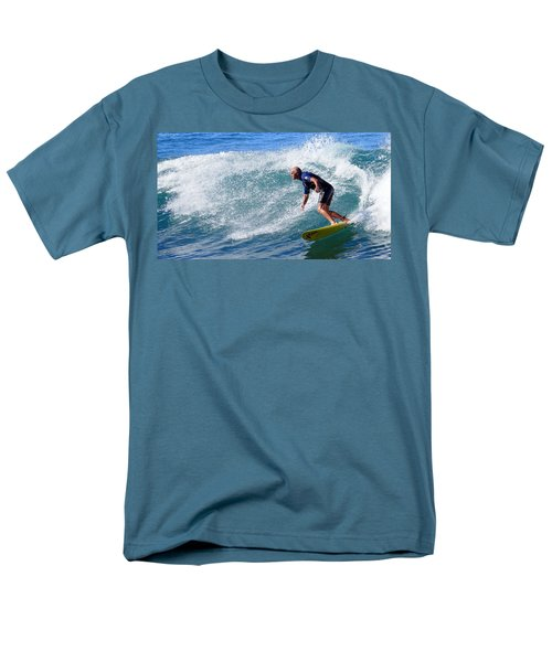 Men's T-Shirt  (Regular Fit) featuring the photograph Go For It 001 by Kevin Chippindall