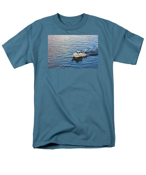 Men's T-Shirt  (Regular Fit) featuring the photograph Going Fishing by Lewis Mann