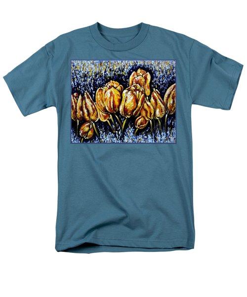 Golden Tulips Men's T-Shirt  (Regular Fit)