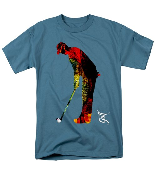 Golf Collection Men's T-Shirt  (Regular Fit) by Marvin Blaine