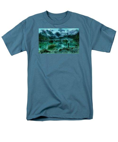 Gollum's Grotto Men's T-Shirt  (Regular Fit) by Mario Carini
