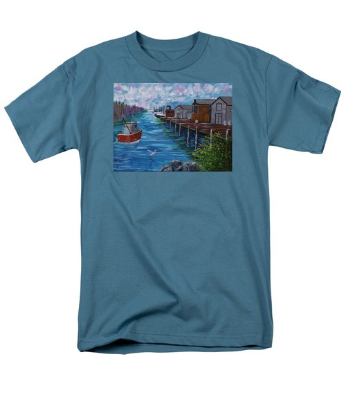 Good Day Fishing Men's T-Shirt  (Regular Fit) by Mike Caitham