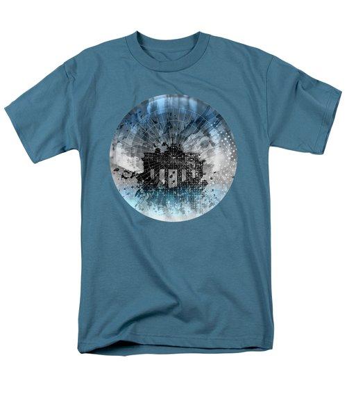 Graphic Art Berlin Brandenburg Gate Men's T-Shirt  (Regular Fit) by Melanie Viola