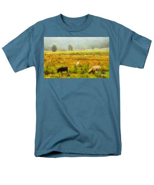 Grazing Men's T-Shirt  (Regular Fit) by Elizabeth Coats