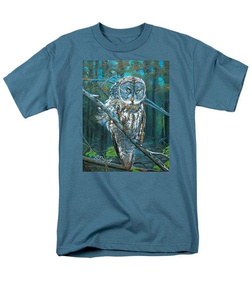 Great Grey Owl Men's T-Shirt  (Regular Fit)
