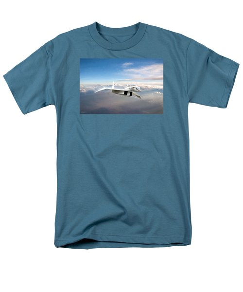 Great White Hope Xb-70 Men's T-Shirt  (Regular Fit) by Peter Chilelli