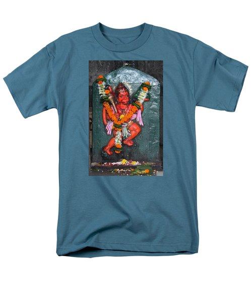 Hanuman Ji, Somewhere Near Ganeshpuri Men's T-Shirt  (Regular Fit) by Jennifer Mazzucco