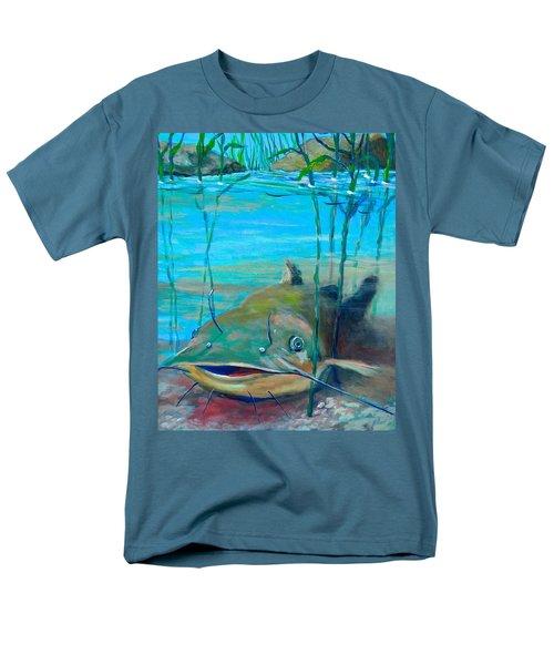 Happy Catfish Men's T-Shirt  (Regular Fit) by Jeanette Jarmon