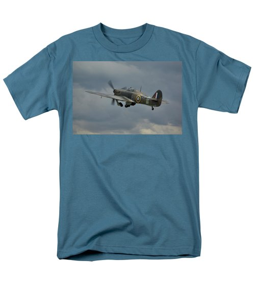 Hawker Hurricane Mk Xii  Men's T-Shirt  (Regular Fit) by Tim Beach