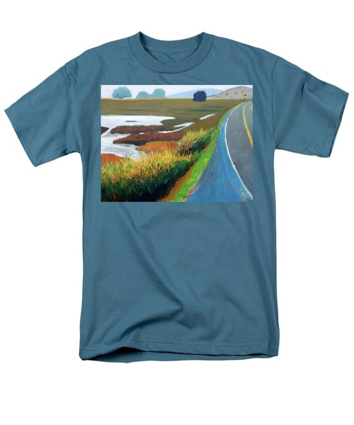 Men's T-Shirt  (Regular Fit) featuring the painting Heading North by Gary Coleman