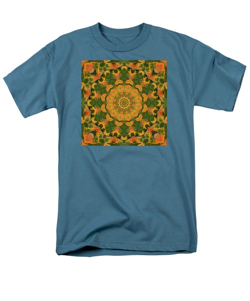 Men's T-Shirt  (Regular Fit) featuring the photograph Healing Mandala 9 by Bell And Todd