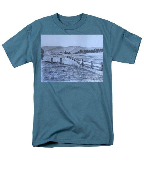 Hearts Desire Beach Men's T-Shirt  (Regular Fit)