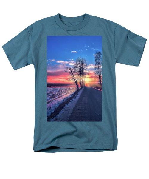 Heavenly Journey Men's T-Shirt  (Regular Fit) by Rose-Marie Karlsen