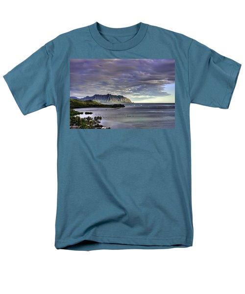 He'eia And Kualoa 2nd Crop Men's T-Shirt  (Regular Fit) by Dan McManus