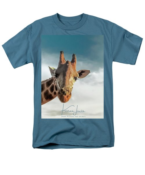 Men's T-Shirt  (Regular Fit) featuring the photograph Hello Down There by Karen Lewis