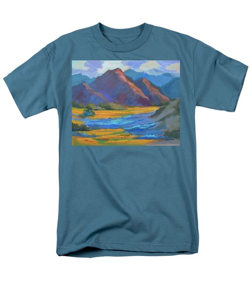 Men's T-Shirt  (Regular Fit) featuring the painting Henderson Canyon Borrego Springs by Diane McClary
