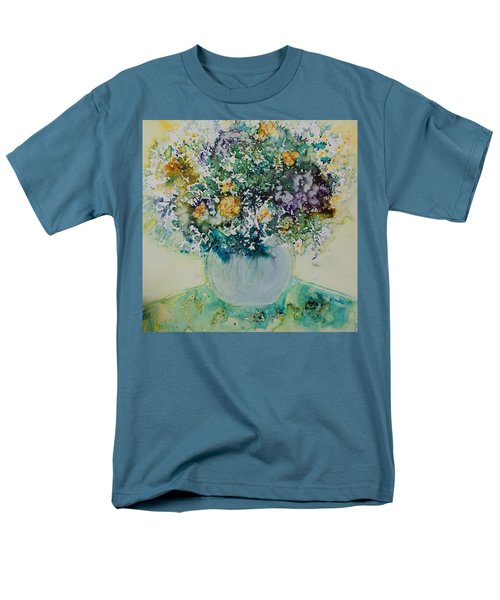 Herbal Bouquet Men's T-Shirt  (Regular Fit) by Joanne Smoley