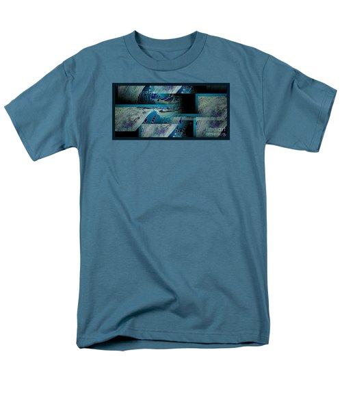 Men's T-Shirt  (Regular Fit) featuring the photograph Hidden Gecko  by Pamela Blizzard