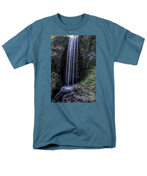 Men's T-Shirt  (Regular Fit) featuring the photograph High Fall by Ken Frischkorn
