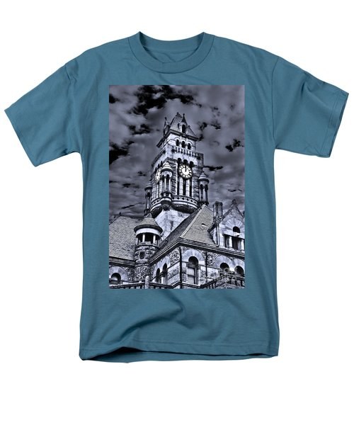 High Noon Black And White Men's T-Shirt  (Regular Fit) by Tamyra Ayles
