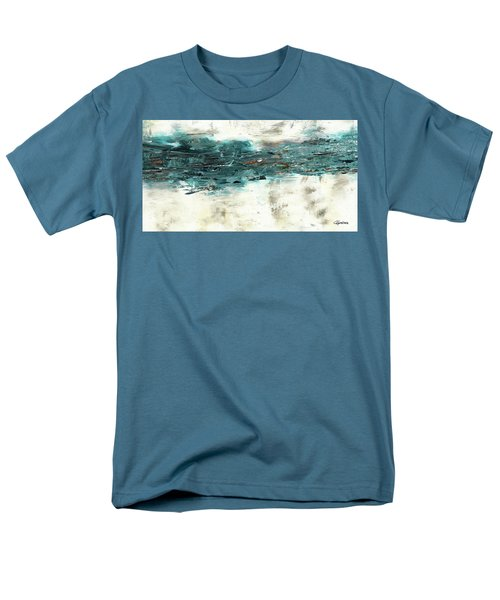 Men's T-Shirt  (Regular Fit) featuring the painting High Tide by Carmen Guedez