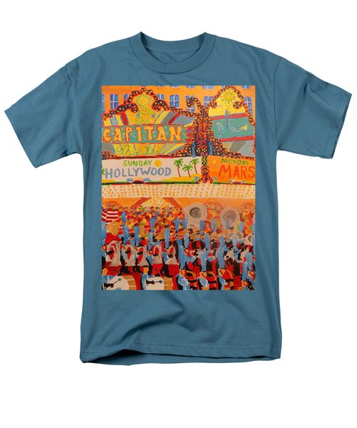 Hollywood Parade Men's T-Shirt  (Regular Fit) by Rodger Ellingson