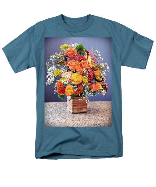 Men's T-Shirt  (Regular Fit) featuring the photograph Holy Week Flowers 2017 by Sarah Loft