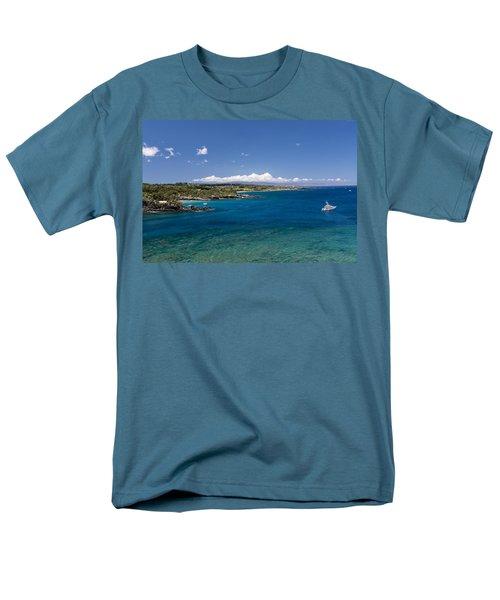 Honolua Bay Men's T-Shirt  (Regular Fit) by Jim Thompson