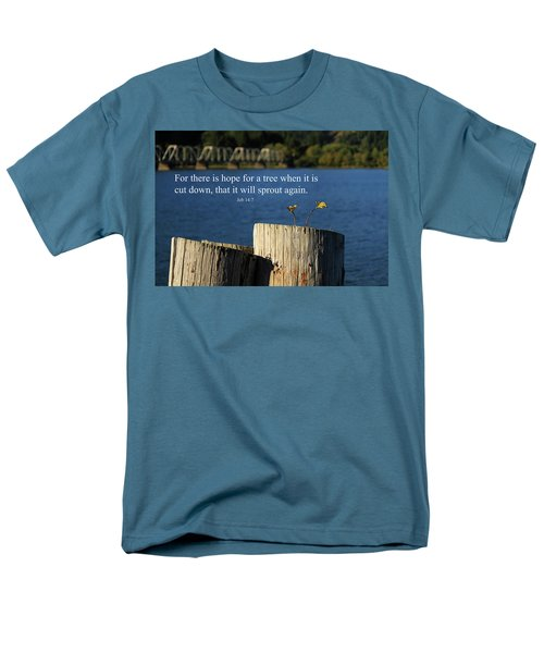Hope For A Tree Men's T-Shirt  (Regular Fit) by James Eddy
