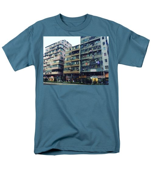Houses Of Kowloon Men's T-Shirt  (Regular Fit) by Florian Wentsch