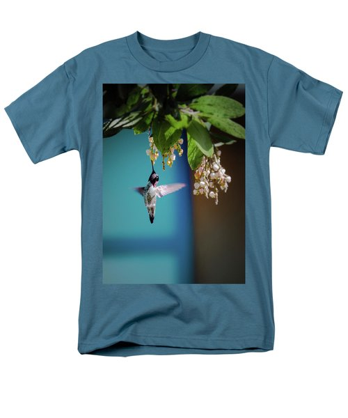 Hummingbird Moment Men's T-Shirt  (Regular Fit) by Mark Dunton