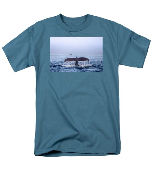 Men's T-Shirt  (Regular Fit) featuring the photograph Humpback Whale Flukes by Janis Knight