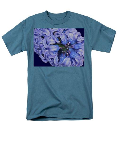 Hyacinth Curls Men's T-Shirt  (Regular Fit) by Lynda Lehmann