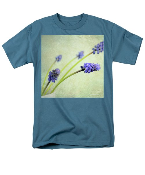 Men's T-Shirt  (Regular Fit) featuring the photograph Hyacinth Grape by Lyn Randle