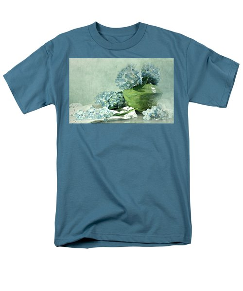 Hydra Blues Men's T-Shirt  (Regular Fit) by Diana Angstadt