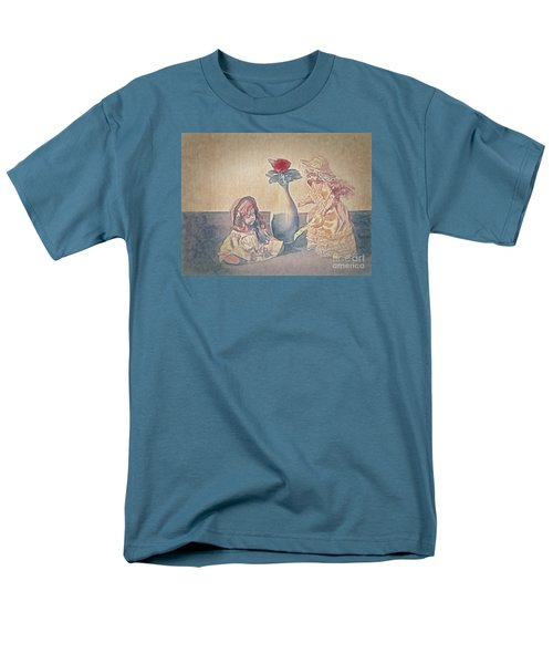 Men's T-Shirt  (Regular Fit) featuring the photograph I Am Sorry  ... by Chuck Caramella