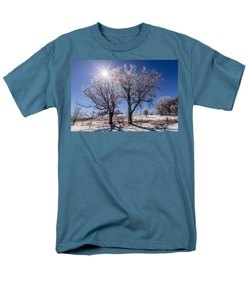 Ice Coated Trees Men's T-Shirt  (Regular Fit)