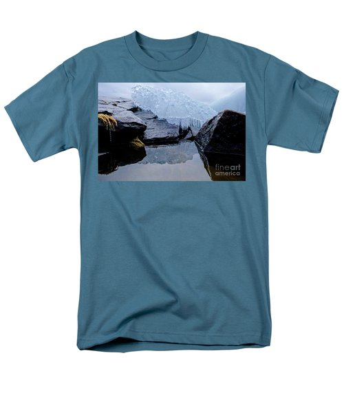 Icy Reflections Men's T-Shirt  (Regular Fit) by Sandra Updyke