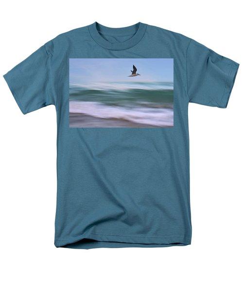 In Flight Men's T-Shirt  (Regular Fit) by Laura Fasulo