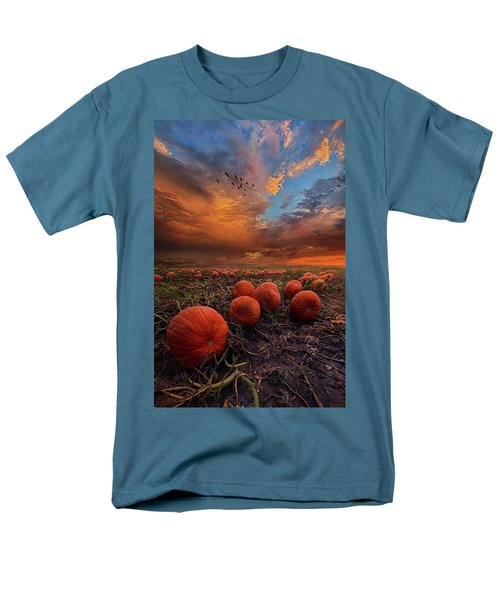 In Search Of The Great Pumpkin Men's T-Shirt  (Regular Fit) by Phil Koch