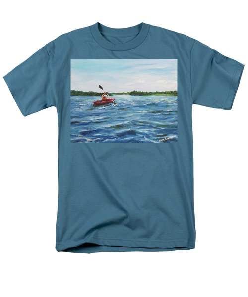 In The Kayak Men's T-Shirt  (Regular Fit) by Jack Skinner