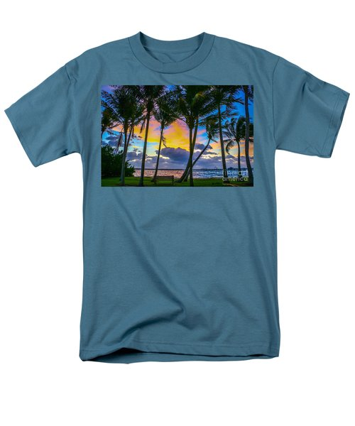 Indian River Sunrise Men's T-Shirt  (Regular Fit) by Tom Claud