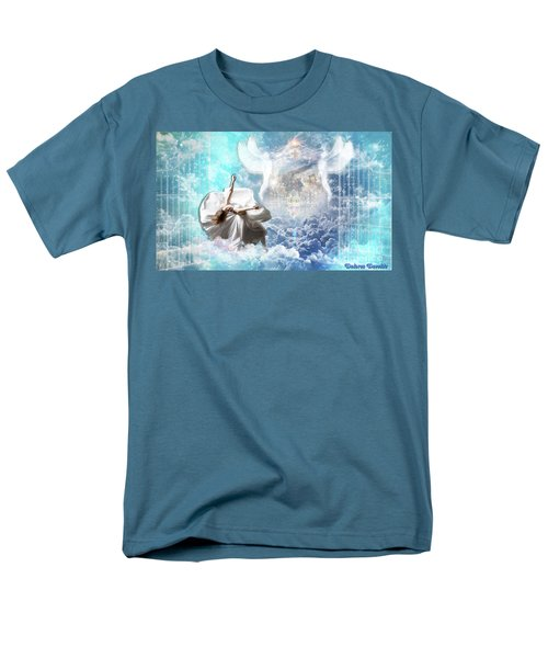 Men's T-Shirt  (Regular Fit) featuring the digital art Inner Courts by Dolores Develde