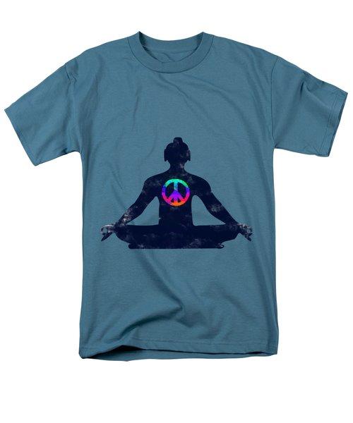 Inner Peace Men's T-Shirt  (Regular Fit) by Keshava Shukla
