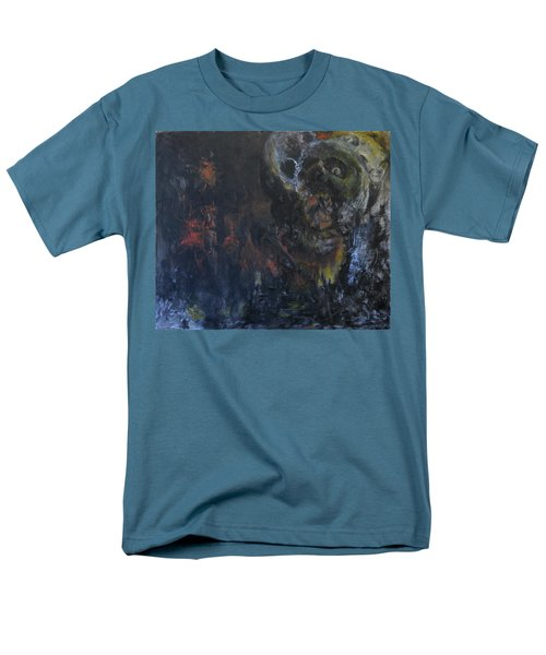 Men's T-Shirt  (Regular Fit) featuring the painting Innocence Lost by Christophe Ennis