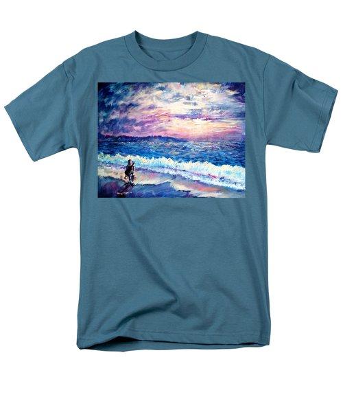 Inspiration-the Musician Men's T-Shirt  (Regular Fit) by Shana Rowe Jackson