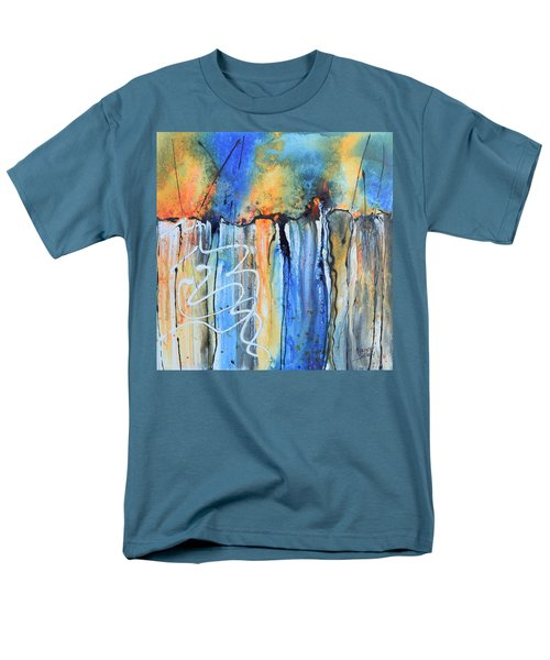 Into The Earth Men's T-Shirt  (Regular Fit) by Nancy Jolley