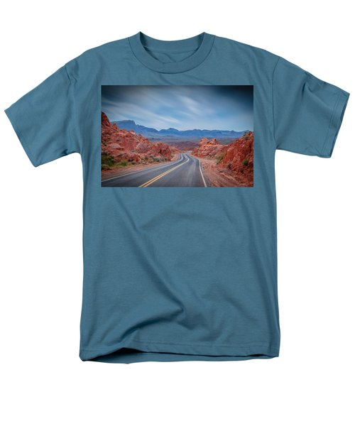 Into The Valley Of Fire Men's T-Shirt  (Regular Fit) by Mark Dunton