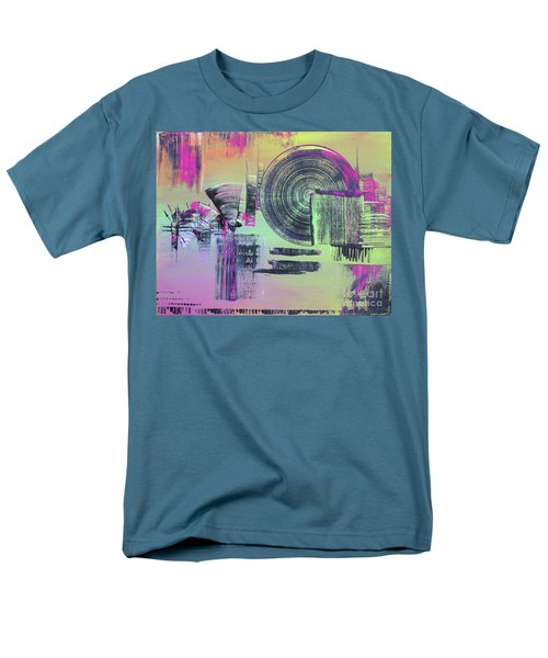 Men's T-Shirt  (Regular Fit) featuring the painting Introvert by Melissa Goodrich